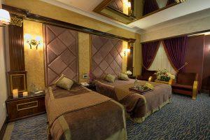اتاق دبل هتل بین المللی قصر مشهد