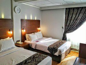 نمای اتاق هتل تارا مشهد