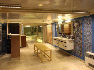 نمای استخرو سونا هتل تارا مشهد