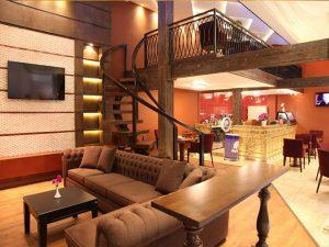 نمای لابی هتل تارا مشهد
