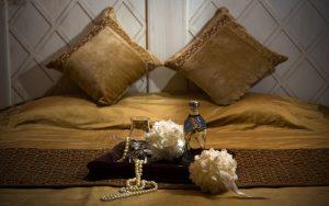 نمای اتاق دبل رویال لاکچری هتل قصر الماس مشهد
