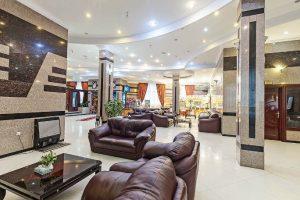 تصویر لابی هتل هلیا مشهد