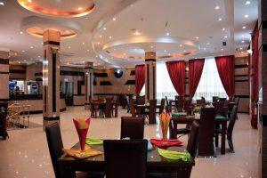 نمای رستوران هتل هلیا مشهد