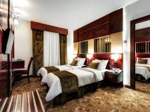 اتاق کانکت هتل الماس 1 مشهد