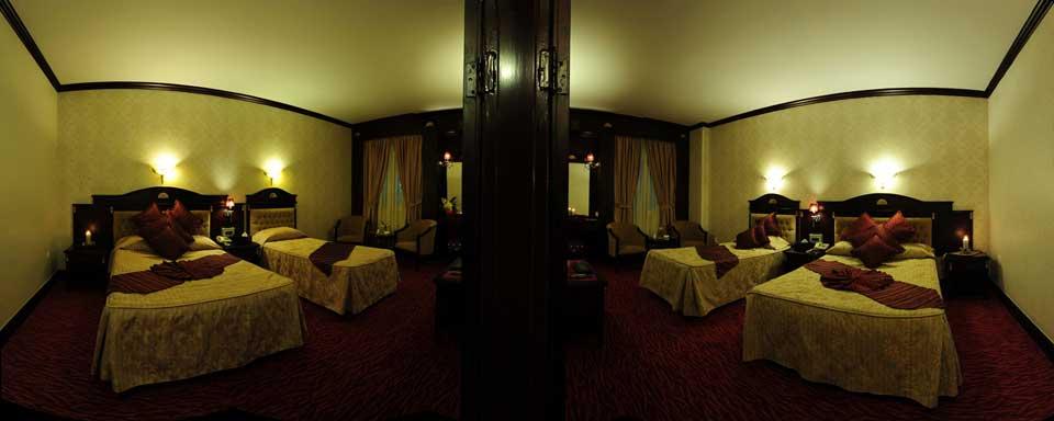 اتاق کانکت هتل قصر الماس مشهد
