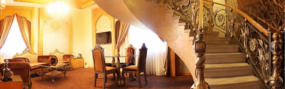 اتاق دوبلکس عرب هتل درویشی مشهد
