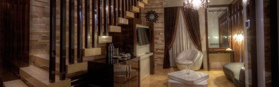 اتاق دوبلکس هتل درویشی مشهد