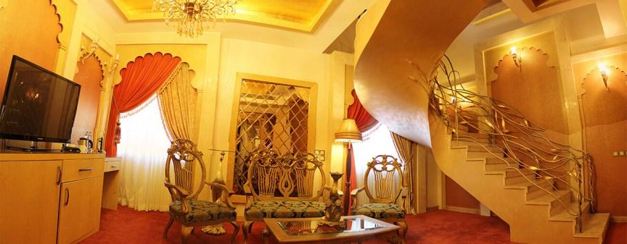 اتاق دوبلکس هند هتل درویشی مشهد