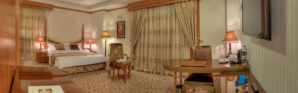 اتاق کوئین هتل درویشی مشهد