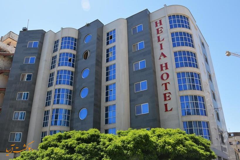 نمای هتل هلیا مشهد
