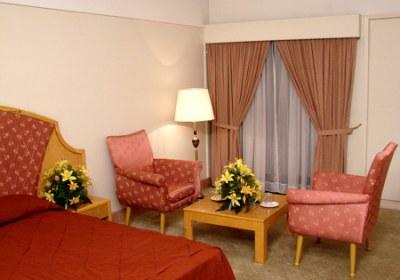 اتاق هتل سیمرغ مشهد