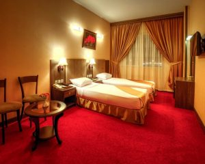 اتاق دو تخته هتل کیانا مشهد