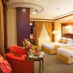 اتاق دو تخته لاکچری هتل قصر طلایی مشهد