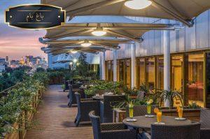 کافی شاپ هتل آپارتمان آرمان مشهد