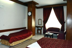 نمای اتاق هتل زیتون مشهد
