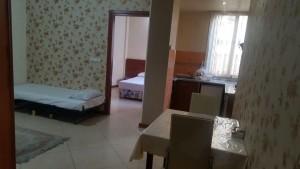 اتاق هتل آپارتمان آبی مشهد