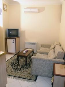 اتاق هتل آپارتمان باستان مشهد