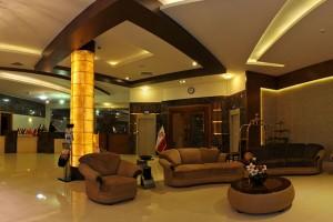 لابی هتل هاترا مشهد