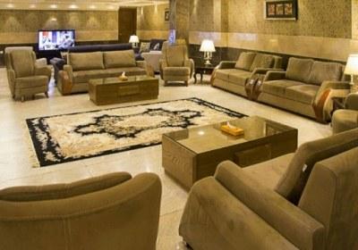 لابی هتل ایران زمین مشهد
