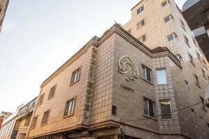 نمای هتل منجی مشهد