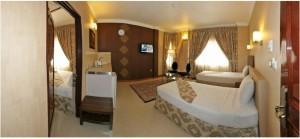 اتاق هتل منجی مشهد