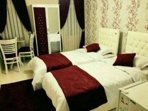 اتاق هتل سعدی مشهد