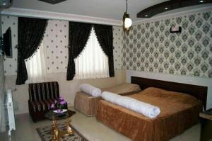 اتاق هتل آپارتمان ثقلین مشهد