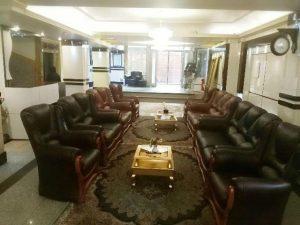 لابی هتل آپارتمان سفرا طلایی مشهد
