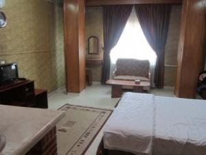 اتاق هتل زیتون مشهد