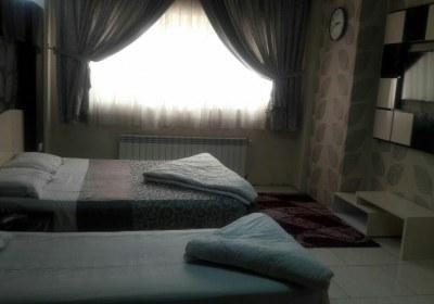 اتاق دوتخته هتل هیراد مشهد