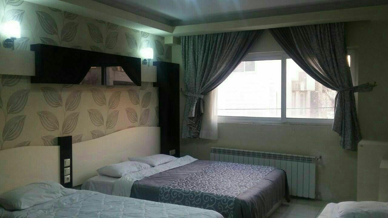اتاق هتل هیراد مشهد