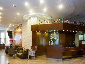 تصویر لابی هتل آتی مشهد