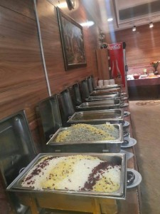 رستوران هتل حافظ مشهد