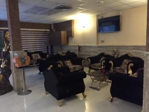 لابی هتل آپارتمان رنگین کمان مشهد