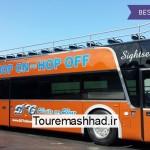 اتوبوسهای HOP-ON HOP-OFF به تهران رسیدند