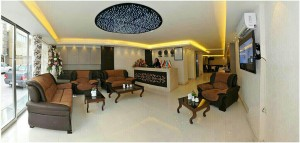 لابی هتل آپارتمان کیش بافان مشهد