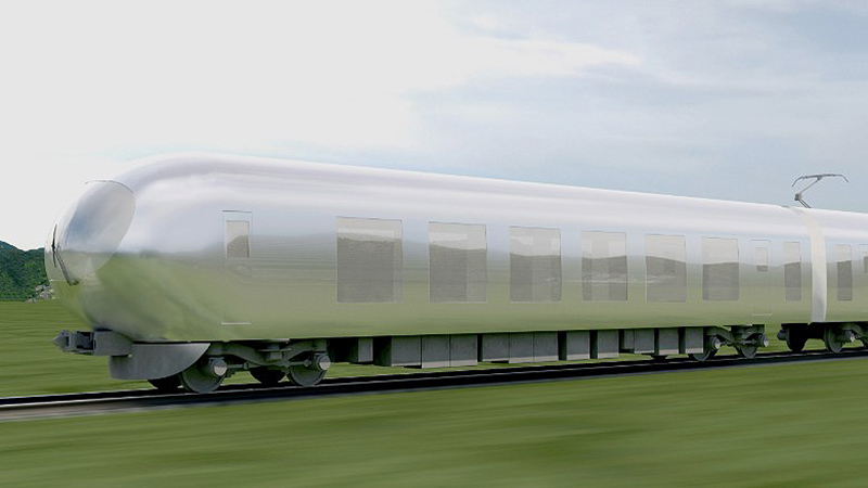 قطار نامرئی ژاپن