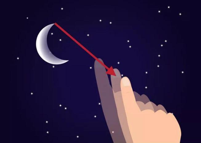 جهت یابی با ماه