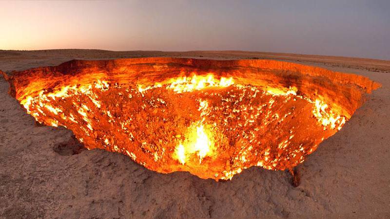 دروازه جهنم | ترکمنستان