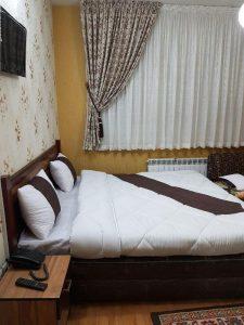 نمای اتاق هتل آپارتمان آرمیا مشهد