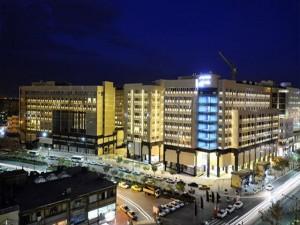 نمای هتل حیات شرق مشهد (هتل سارا )