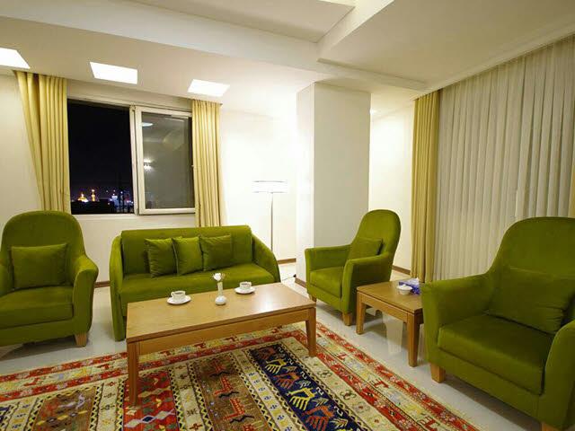 تور مشهد زمینی هتل حیات شرق (هتل سارا )