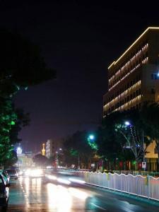 نمای هتل حیات شرق مشهد ( هتل سارا )