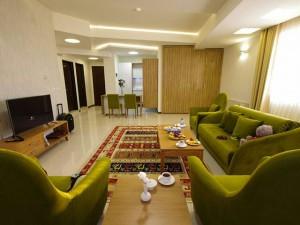 اتاق هتل حیات شرق مشهد (هتل سارا )
