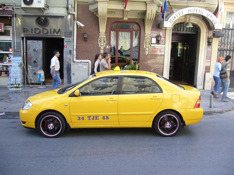 تاکسی در استانبول