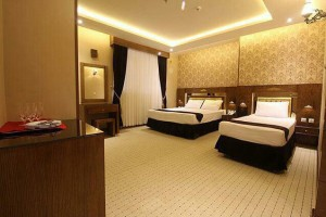 اتاق هتل ذاکر مشهد