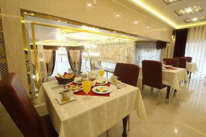 رستوران هتل ذاکر مشهد