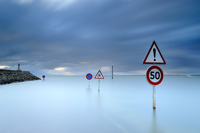 عکس جاده Passage du gois