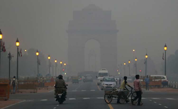 آلودگی هوای هند