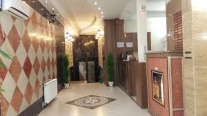 لابی هتل آپارتمان تمدن مشهد